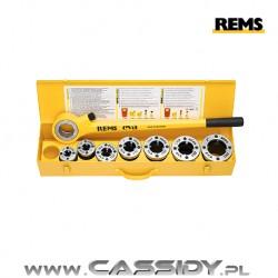 Gwintownica ręczna REMS EVA z szybkowymiennymi głowicami