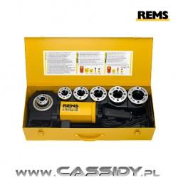 Gwintownica elektryczna REMS Amigo 2 z szybkowymiennymi głowicami